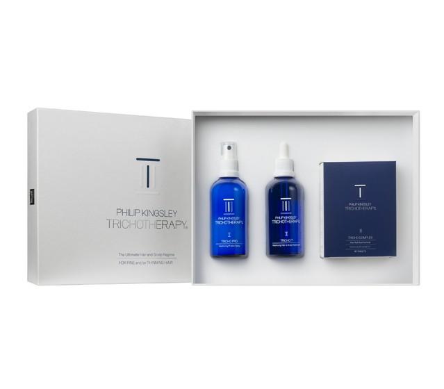 Купить TRICHOTHERAPY от Philip Kingsley - комплексный набор средств для тонких волос.