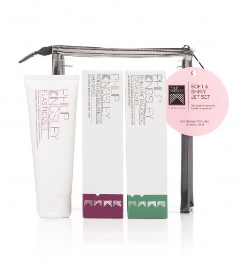Купить увлажняющие шампунь и кондиционер в наборе для волос «Увлажнение и блеск» Soft&Shiny от Philip Kingsley