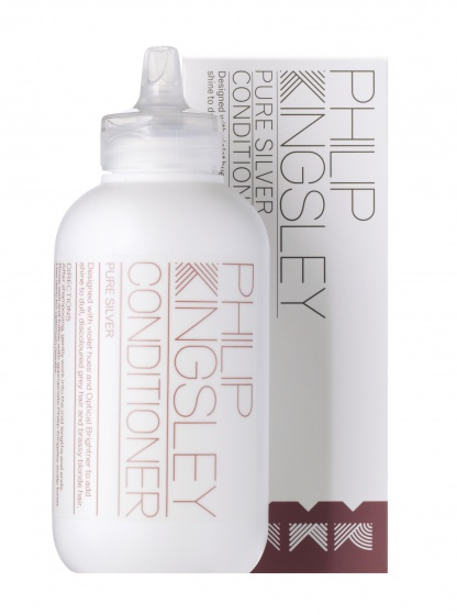 Купить кондиционер для седых и обесцвеченных волос Pure Silver от Philip Kingsley