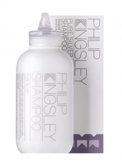 Купить шампунь для седых и обесцвеченных волос Pure Silver от Philip Kingsley.